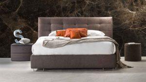 Caravaggio - letto imbottito